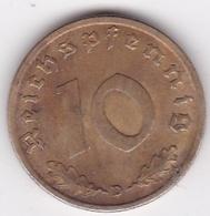 10 Reichspfennig 1939 D (MUNICH) Bronze-aluminium - [ 4] 1933-1945 : Tercer Reich
