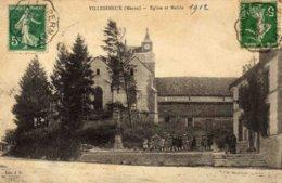 VILLESENEUX   - Eglise Et Mairie - Francia