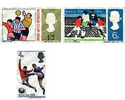 Ref. 66093 * MNH * - GREAT BRITAIN. 1966. FOOTBALL WORLD CUP. ENGLAND-66 . COPA DEL MUNDO DE FUTBOL. INGLATERRA-66 - 1966 – Angleterre
