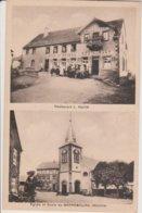 57 - GARREBOURG - 2 VUES - RESTAURANT LEGER KUHN - Other Municipalities