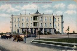 1909 , CUBA , TARJETA POSTAL CIRCULADA , HOTEL CAMPOAMOR EN COJIMAR - Postales