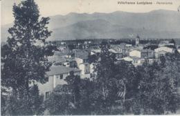CARTOLINA - VILLAFRANCA LUNIGIANA - PANORAMA - (MASSA-CARRARA)  - VIAGGIATA 1938 - Massa