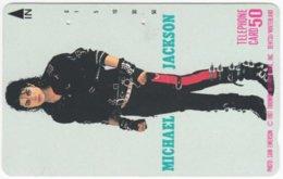 JAPAN I-754 Magnetic NTT [110-34080] - Musician, Michael Jackson - Used - Japon