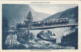 74 CHAMONIX MONT BLANC VIADUC DU TRAIN A CREMAILLERE DU MONTENVERS GLACIER DE LA MER DE GLACE  EDITEUR TAIRRAZ - Chamonix-Mont-Blanc