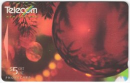 NEW ZEALAND A-834 Magnetic Telecom - Occasion, Christmas - 271BO - Used - New Zealand