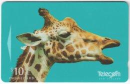 NEW ZEALAND A-845 Magnetic Telecom - Animal, Giraffe - 311CO - Used - New Zealand