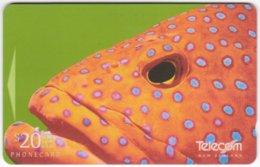 NEW ZEALAND A-846 Magnetic Telecom - Animal, Sea Life, Fish - 311DO - Used - Nuova Zelanda