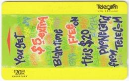 NEW ZEALAND A-865 Magnetic Telecom - 431DO - Used - Nuova Zelanda