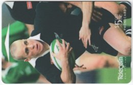 NEW ZEALAND A-879 Magnetic Telecom - Sport, Rugby - 491BO - Used - New Zealand