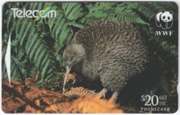 NEW ZEALAND A-885 Magnetic Telecom - Animal, Bird - 501DO - Used - New Zealand