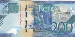 KENYA 200 SHILLINGS 2019 P- NEW UNC */* - Kenia