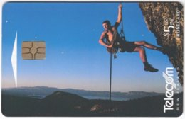 NEW ZEALAND A-911 Chip Telecom - Leisure, Mountain Climbing - Used - Nuova Zelanda