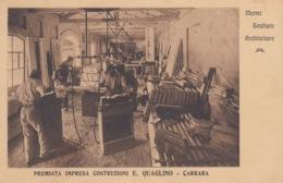 CARTOLINA - PREMIATA IMPRESA COSTRUZIONI E. QUAGLINO - CARRARA - Carrara
