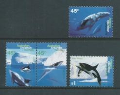 Australian Antarctic Territory 1995 Whale & Dolphin Set Of 4 MNH - Territorio Antartico Australiano (AAT)