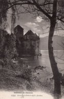 CPA - Château De CHILLON - Cachet TERRITET & Griffe Frankatur Siehe Ruckseite - VD Vaud