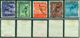 "-Romania-1937-""Sports"" (o) - Usado"