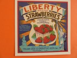 LIBERTY BRAND STRAWBERRIES - Pubblicitari
