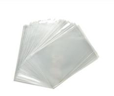 100 X MICAS Para Guardar Postais 10cm X 15cm. 100 Clear Sleeves For Postcards / Etuis Pour Cartes Postales CPA - Matériel