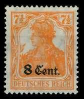 BES 1WK ETAPPE WEST Nr 3a Ungebraucht X779386 - Occupation 1914-18
