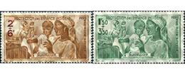 Ref. 344447 * HINGED * - GUADELOUPE. 1942. PROTECCION A LA INFANCIA - Unused Stamps