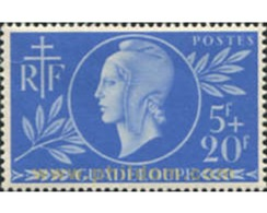Ref. 371562 * MNH * - GUADELOUPE. 1944. EFIGIE - Unused Stamps