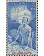 Ref. 596423 * HINGED * - GUADELOUPE. 1942. QUINCENA IMPERIAL - Unused Stamps
