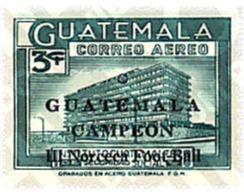 Ref. 26900 * MNH * - GUATEMALA. 1967. 3rd FOOTBALL CHAMPIONSHIP OF NORTH AND CENTRAL AMERICA . 3 CAMPEONATOS DEL NORTE Y - Guatemala