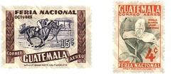Ref. 321182 * MNH * - GUATEMALA. 1954. NATIONAL SHOW . FERIA NACIONAL - Guatemala