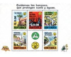 Ref. 35386 * MNH * - GUATEMALA. 1979. PROTECTION OF THE FOREST . PROTECCION DEL BOSQUE - Guatemala