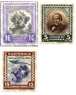 Ref. 91076 * MNH * - GUATEMALA. 1946. CENTENARY OF THE CREATION OF THE STAMP . CENTENARIO DE LA CREACION DEL SELLO - Guatemala