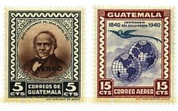 Ref. 321177 * MNH * - GUATEMALA. 1946. CENTENARY OF THE CREATION OF THE STAMP . CENTENARIO DE LA CREACION DEL SELLO - Guatemala