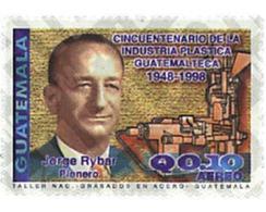 Ref. 204818 * MNH * - GUATEMALA. 1998. 50 ANIVERSARIO DE LA INDUSTRIA PLASTICA GUATEMALTECA 1948-1998 - Guatemala