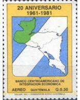 Ref. 321228 * MNH * - GUATEMALA. 1984. ANIVERSARIO BANCO - Guatemala