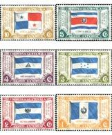 Ref. 572915 * MNH * - GUATEMALA. 1938. 1 EXPOSICION FILATELICA DE AMERICA CENTRAL. BANDERAS - Guatemala