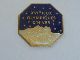 Pin's ALBERTVILLE 92, XVI° J.O. D HIVER B - Juegos Olímpicos
