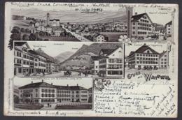 CPA  Suisse, Gruss Aus WATTWIL, 1904 - SG St-Gall