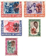 Ref. 91203 * MNH * - GUINEA. 1962. MALARIA ERADICATION . ERRADICACION DE LA MALARIA - Guinea (1958-...)