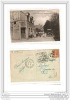 1137 FRD27 AK PC CPA ORGEVILLE ENTREE DU PAYS CAFE/RESTAURANT 1930 TTB - Altri Comuni