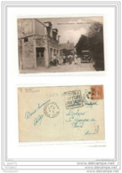 1137 FRD27 AK PC CPA ORGEVILLE ENTREE DU PAYS CAFE/RESTAURANT 1930 TTB - Francia