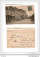 6769 FRD27 CPA/FRANCE/27/EURE/ST GEORGES DU VIEVRE/RUE DU MARCHE/EPICERIE/1909 - Altri Comuni