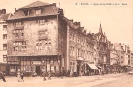 LIEGE - Quais De La Goffe Et De La Batte - Liege