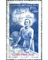 Ref. 323040 * HINGED * - FRENCH GUINEA. 1942. - Ongebruikt