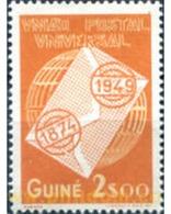 Ref. 195501 * HINGED * - PORTUGUESE GUINEA. 1949. 75th ANNIVERSARY OF UNIVERSAL POSTAL UNION . 75 ANIVERSARIO DE LA UNIO - Portugiesisch-Guinea