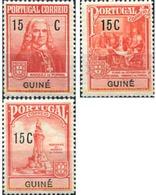 Ref. 322993 * HINGED * - PORTUGUESE GUINEA. 1933. BASIC SET . SERIE BASICA - Portugees Guinea
