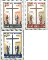 Ref. 323004 * MNH * - PORTUGUESE GUINEA. 1953. EXPOSICION DE ARTE SACRO MISIONARIO - Sonstige