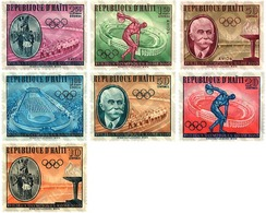 Ref. 68006 * MNH * - HAITI. 1960. GAMES OF THE XVII OLYMPIAD. ROME 1960 . 17 JUEGOS OLIMPICOS VERANO ROMA 1960 - Summer 1896: Athens