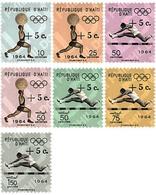 Ref. 39744 * MNH * - HAITI. 1965. GAMES OF THE XVIII OLYMPIAD. TOKYO 1964 . 18 JUEGOS OLIMPICOS VERANO TOKIO 1964 - Weightlifting