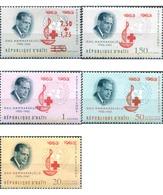 Ref. 323637 * MNH * - HAITI. 1964. CENTENARY OF THE RED CROSS . CENTENARIO DE LA CRUZ ROJA - Haiti