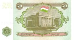 TAJIKISTAN P.  5a 50 R 1994 UNC - Tajikistan
