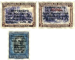 Ref. 31315 * MNH * - HONDURAS. 1966. FOOTBALL WORLD CUP. ENGLAND-66 . COPA DEL MUNDO DE FUTBOL. INGLATERRA-66 - Honduras